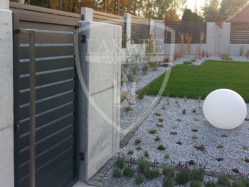 Nowoczesne ogrodzenia aluminiowe Jastrzębie Zdrój województwo Śląskie