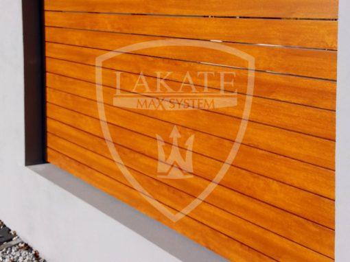 Alu wood fence Sosnowice