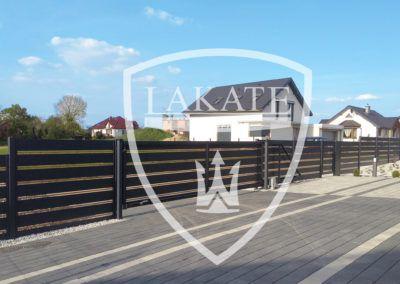 Systemy ogrodzeń aluminiowych ALU FENCE PREMIUM made by LAKATE- producent nowoczesnych ogrodzeń posesyjnych