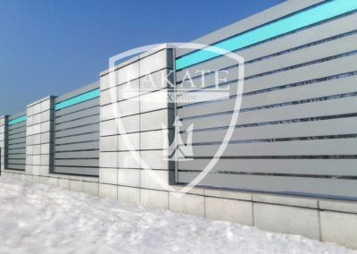 Ogrodzenie Kostbet i panele aluminiowe made by Lakate
