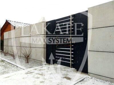 Beton architektoniczny płyty betonowe ogrodzenia nowoczesne