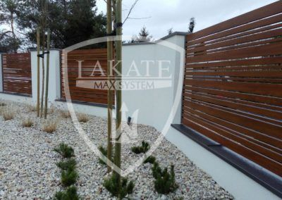 ALU WOOD FENCE MIX- PANELE 100, 60, 25 MM