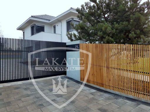 ogrodzenie aluminiowe Alu Fence Prestige pionowe ogrodzenie aluminiowe, które w niebanalny sposób podkreśla ekstrawagancki charakter każdego budynku.