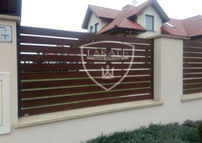 aluminiowe ogrodzenie Alu Fence