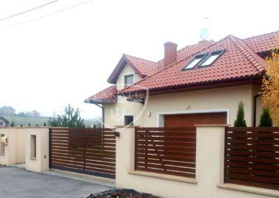 Alu wood Fence