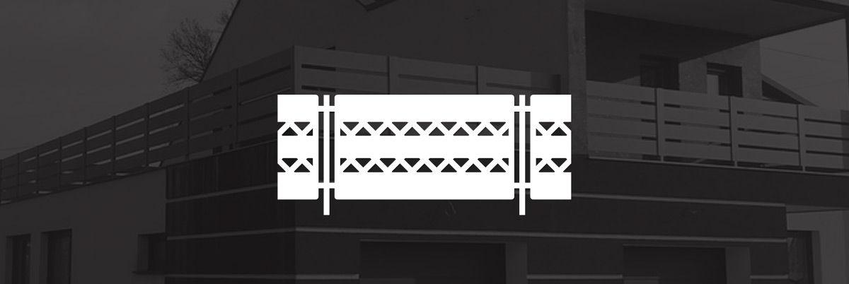 Balustrady aluminiowe, ogrodzenia z betonu architektonicznego