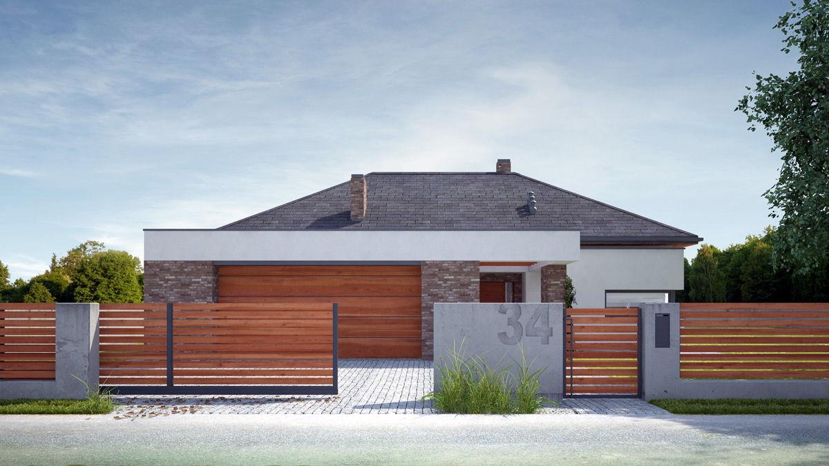Ogrodzenia aluminiowe drewnopodobne Alu Wood Fence OPTIMAL