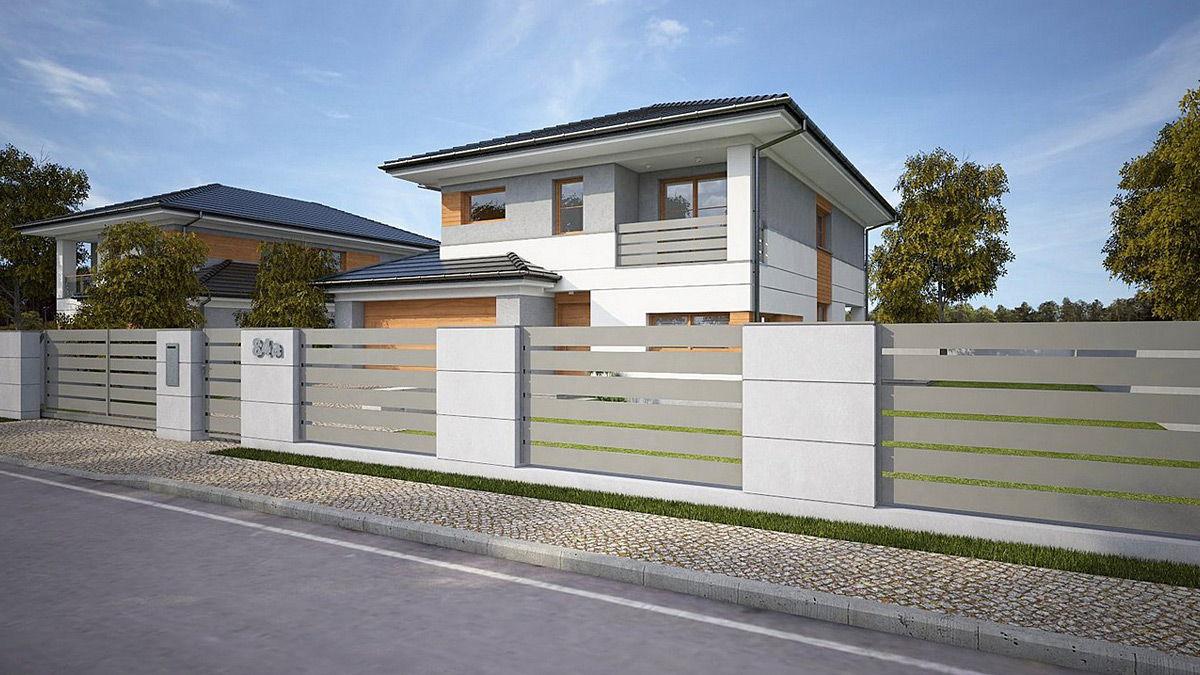 Ogrodzenie aluminiowe Alu Fence Premium