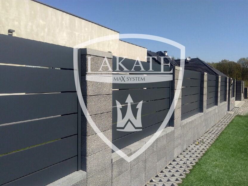 aluminiowe ogrodzenia