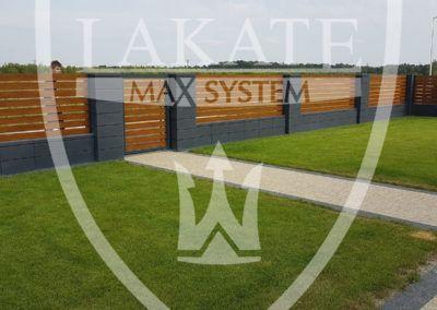 Alu Wood Fence optimal prosta, elegancka forma jest zawsze na czasie.