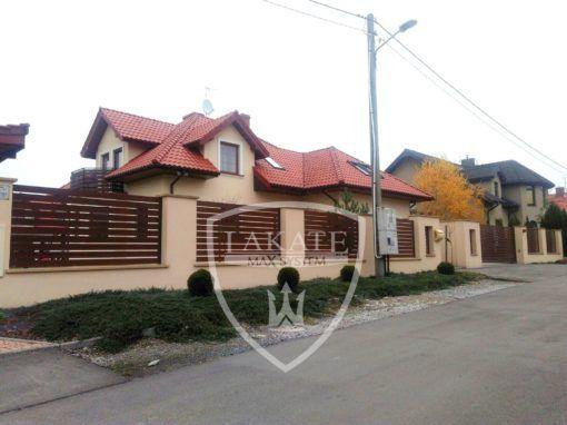 ogrodzenie aluminiowe Alu Fence Optimal