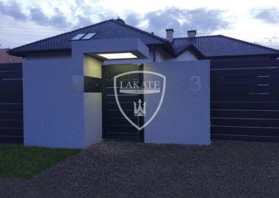 Alu fence premium ogrodzenie aluminiowe, realizacja 2018