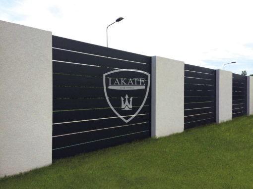 Realizacja 2018 Alu fence premium-ogrodzenie aluminiowe