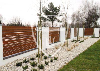 ogrodzenie Wood Fence