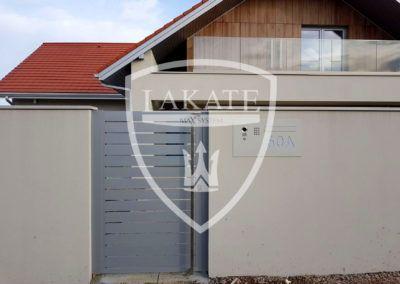 Alu Fence Optimal, panele poziome malowane proszkowo na dowolny kolor