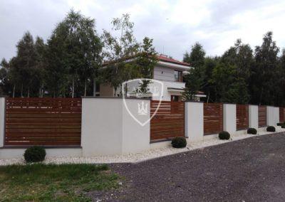 Ogrodzenia posesyjne- Lakate producent ogrodzeń pod wymiar