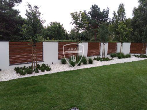 Ogrodzenie Alu Wood Fence mix