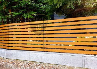realizacje Lakate Alu fence optimal