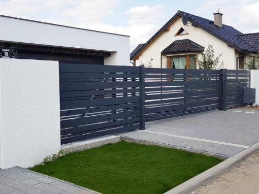 Ogrodzenie aluminowe – Alu Fence MIX